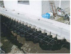 施工用補助枠設置